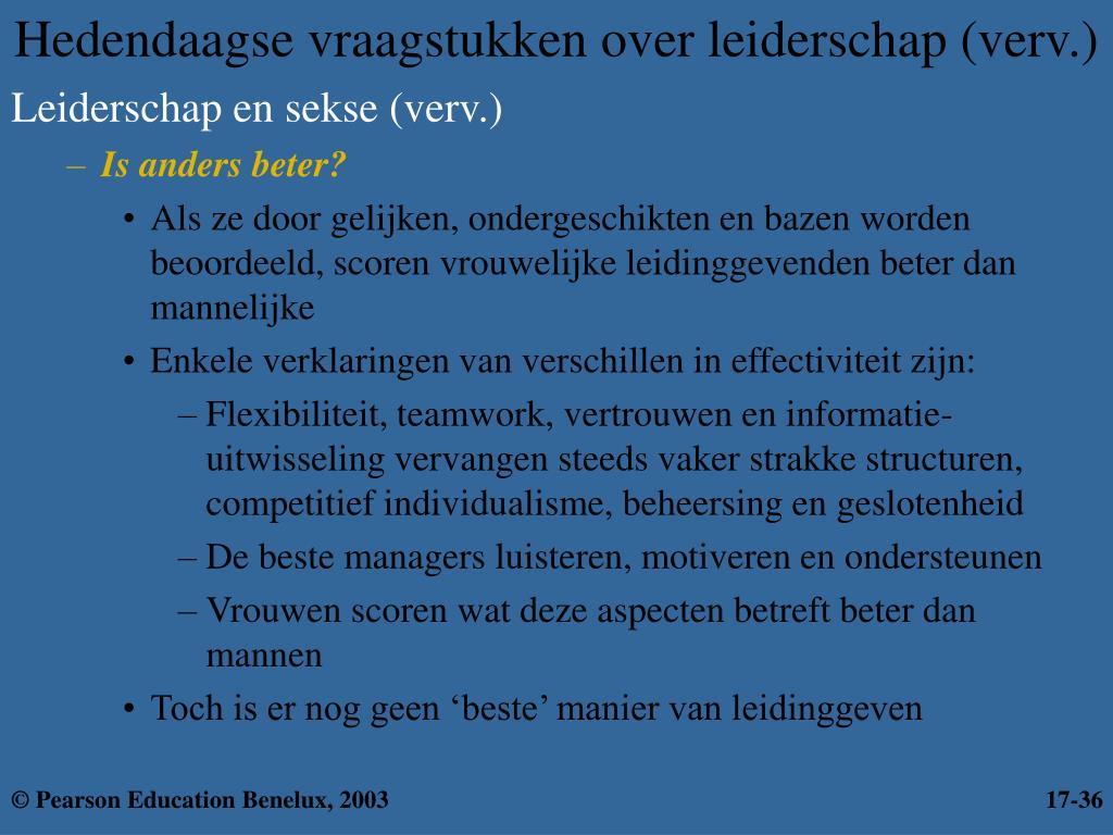 Hedendaagse vraagstukken over leiderschap (verv.)