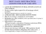 best usage best practices lessons fom slow take offs