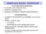 mortgage bonds definition