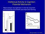 intellectual activity cognition potential mechanism