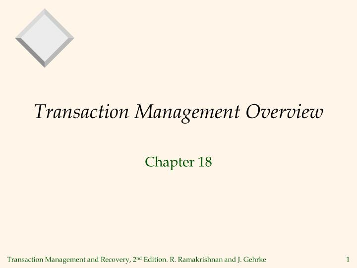 Transaction management overview l.jpg