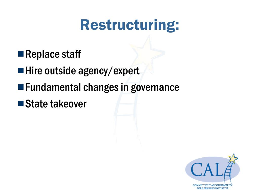 Restructuring: