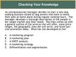 checking your knowledge18