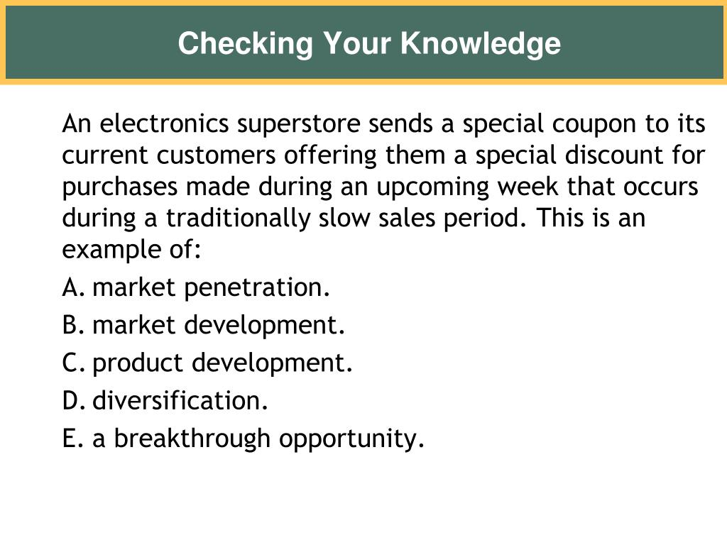 An electronics superstore sends a special coupon to its current customers offering them a special discount for purchases made during an upcoming week that occurs during a traditionally slow sales period. This is an example of: