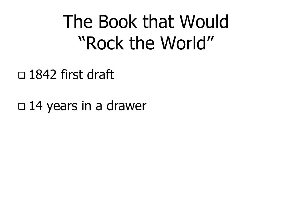 The Book that Would
