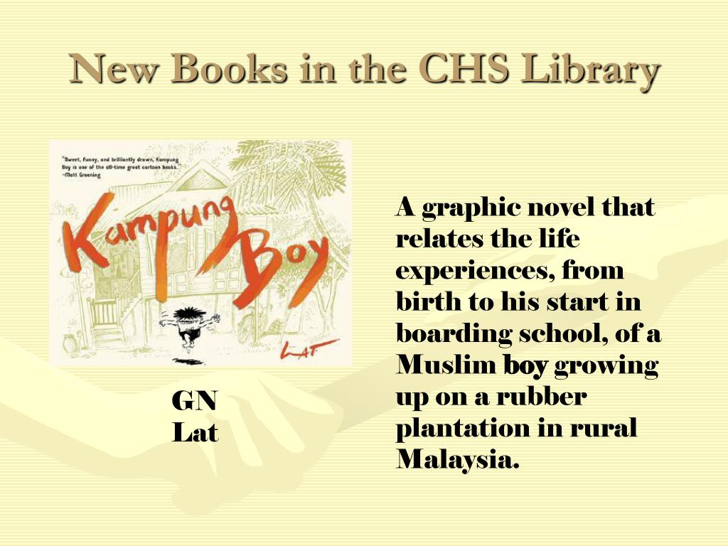 New Books in the CHS Library