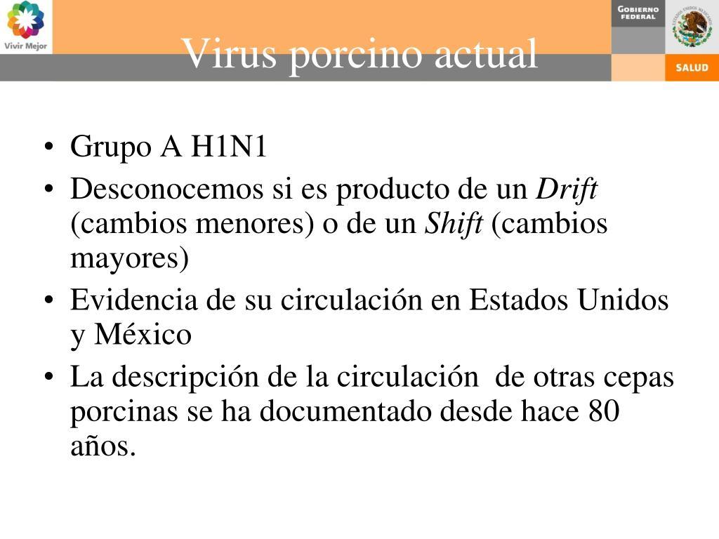 Grupo A H1N1