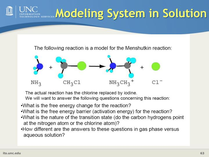 Modeling System in Solution