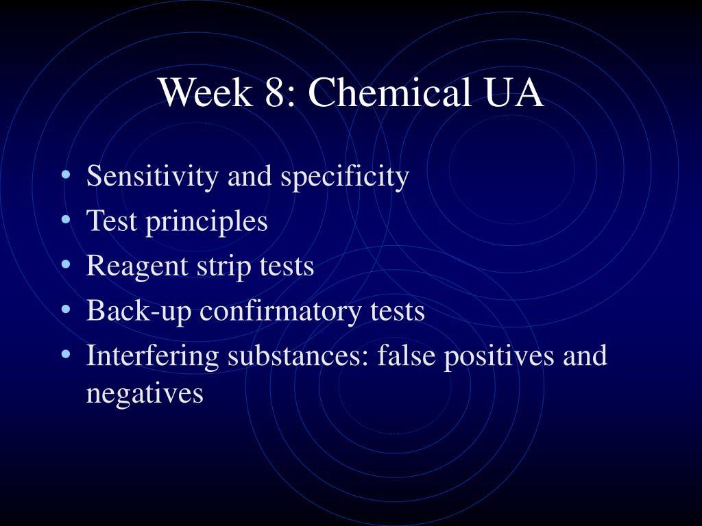 week 8 chemical ua