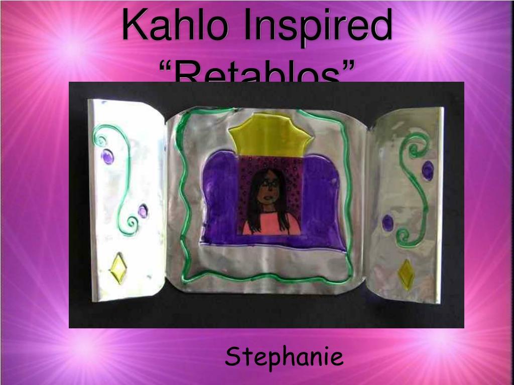 "Kahlo Inspired ""Retablos"""
