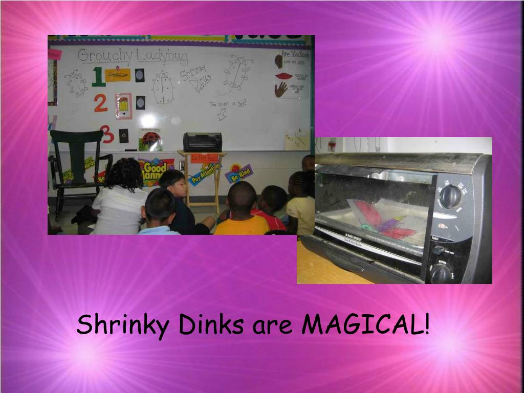 Shrinky Dinks are MAGICAL!