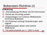 bolkenstein richtlinie 2