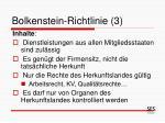 bolkenstein richtlinie 3