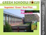 vegetated green roof pilot25