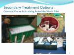 secondary treatment options orenco advantex recirculating packed bed media filter