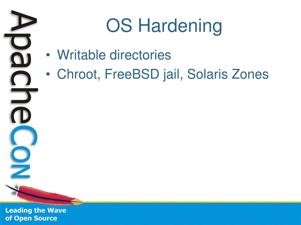 OS Hardening