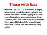 those with ezra6