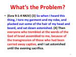 what s the problem30