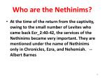 who are the nethinims14