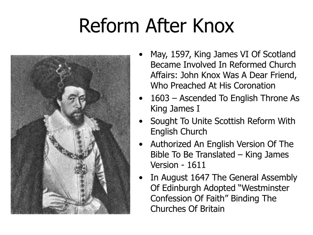 Reform After Knox