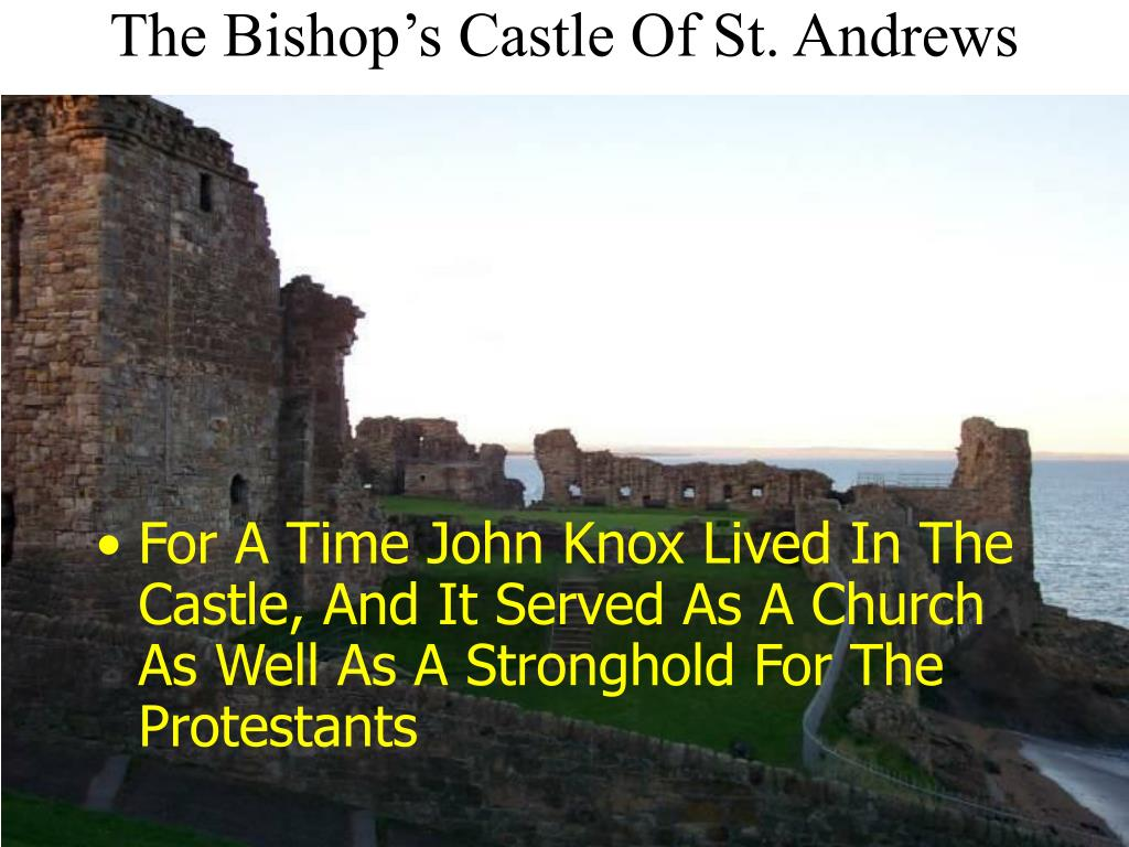 The Bishop's Castle Of St. Andrews