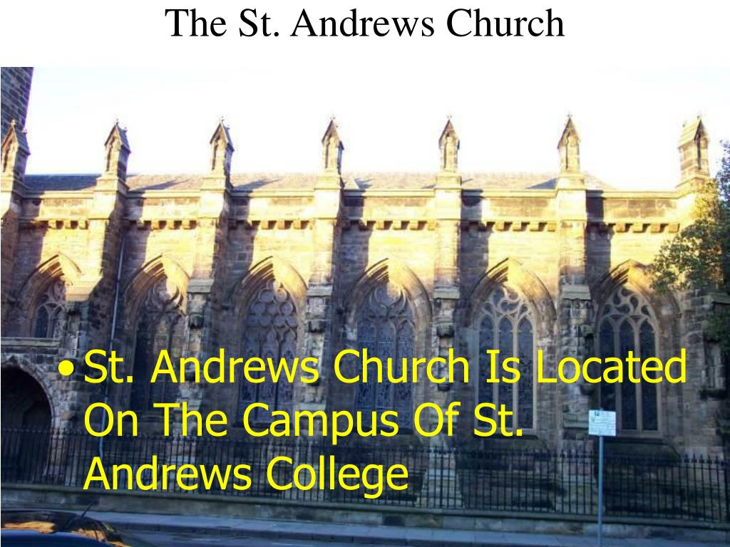 The St. Andrews Church
