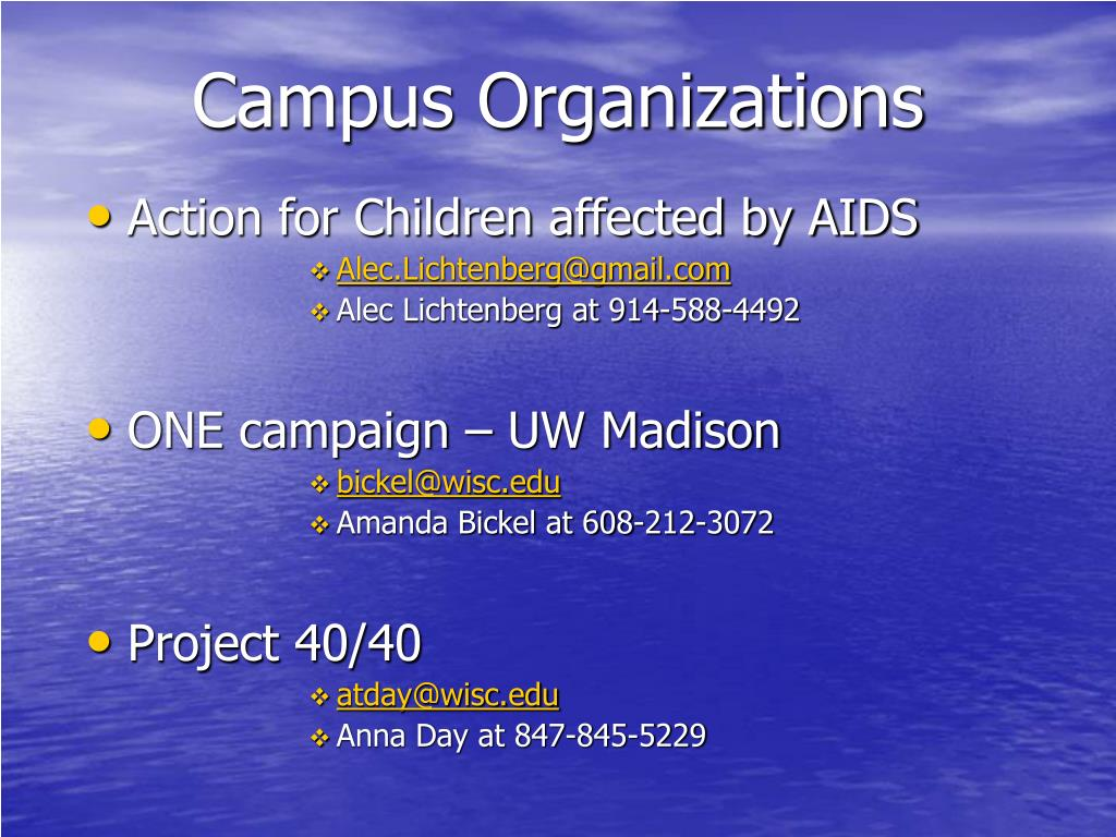 Campus Organizations