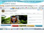 step 2 click on the degree portal for returning students button