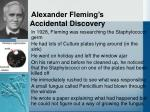 alexander fleming s accidental discovery