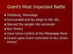 grant s most important battle