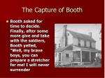 the capture of booth
