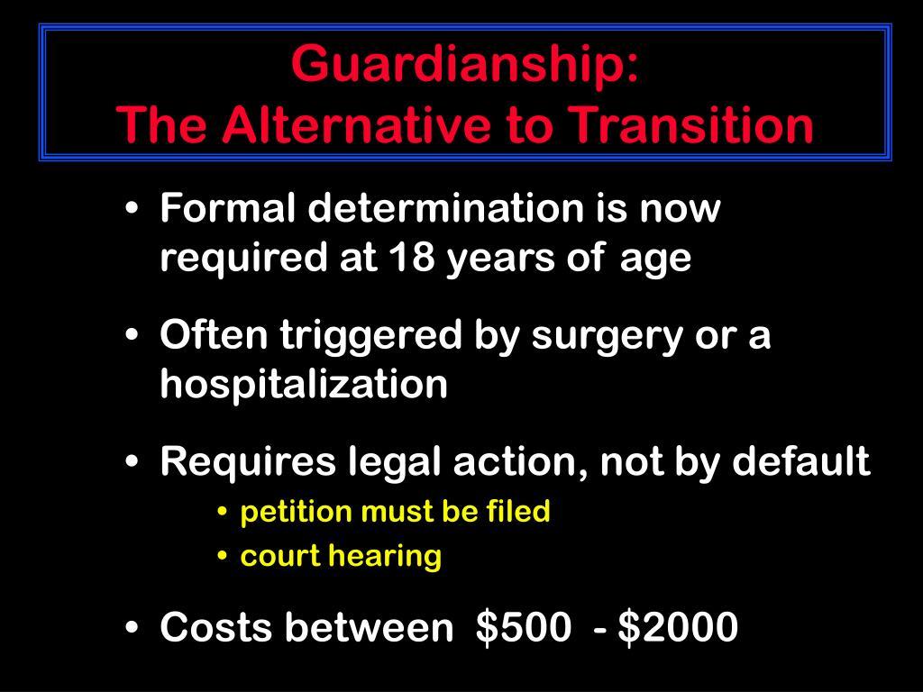 Guardianship: