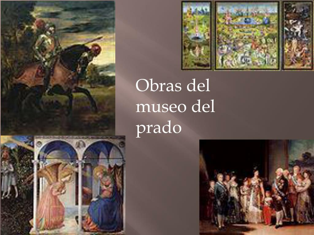 Obras del museo del prado