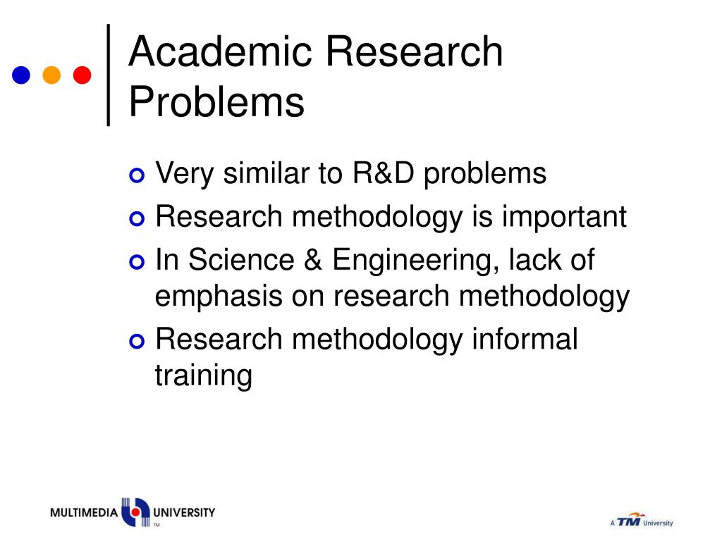 Academic Research Problems