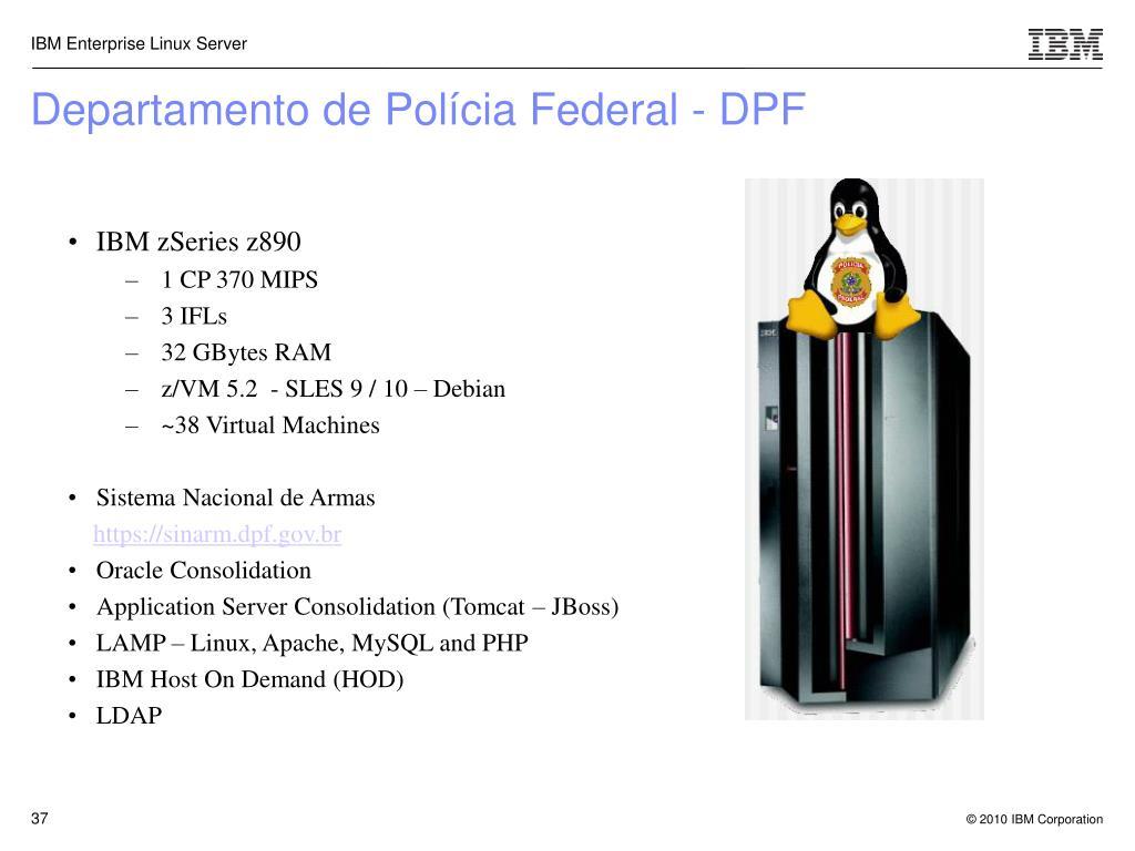 Departamento de Polícia Federal - DPF
