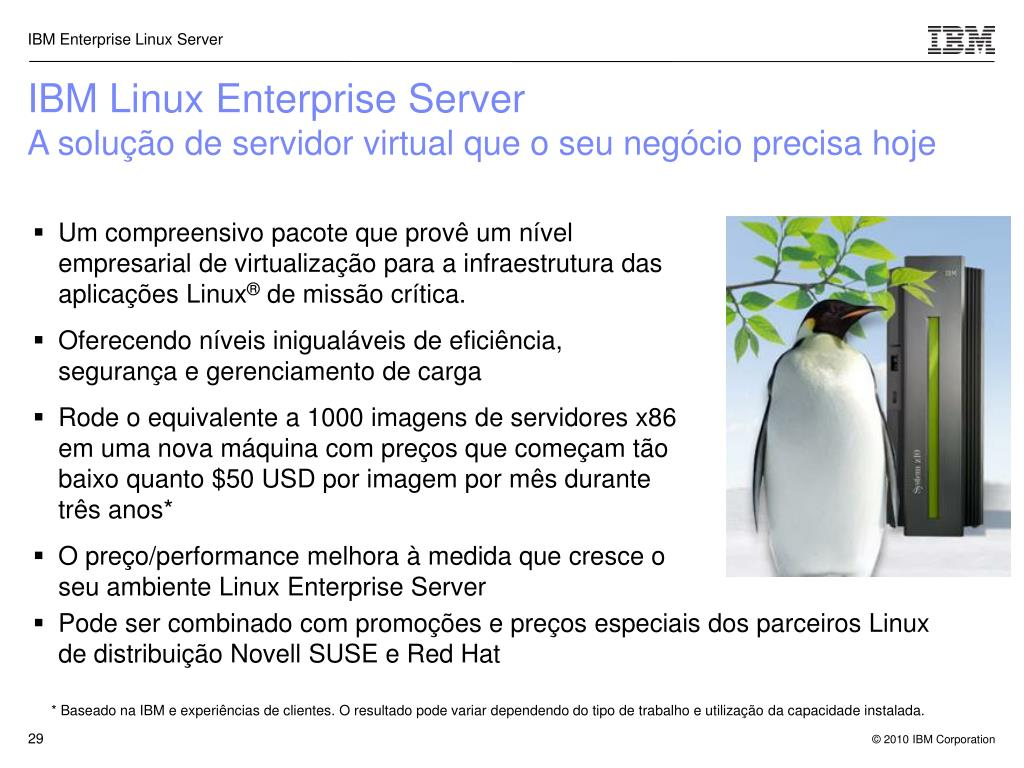 IBM Linux Enterprise Server