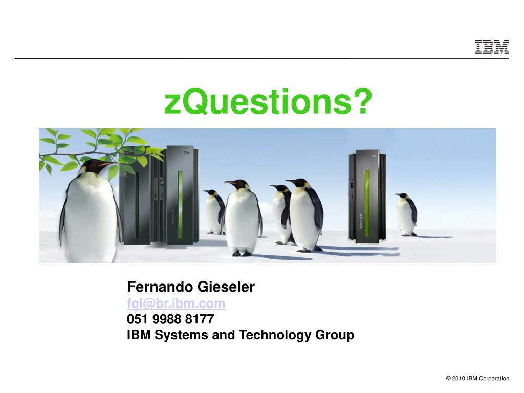 zQuestions?