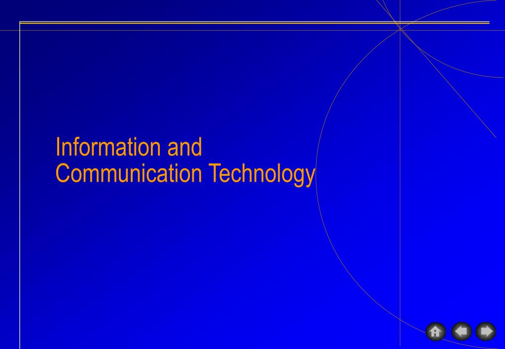 Ict Information Communication Technology Ppt Internet