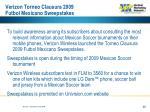 verizon torneo clausura 2009 futbol mexicano sweepstakes