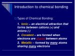 introduction to chemical bonding6