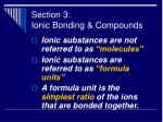 section 3 ionic bonding compounds39