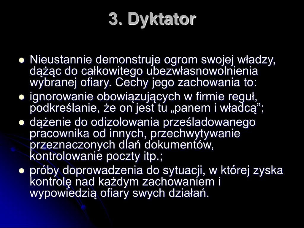 3. Dyktator