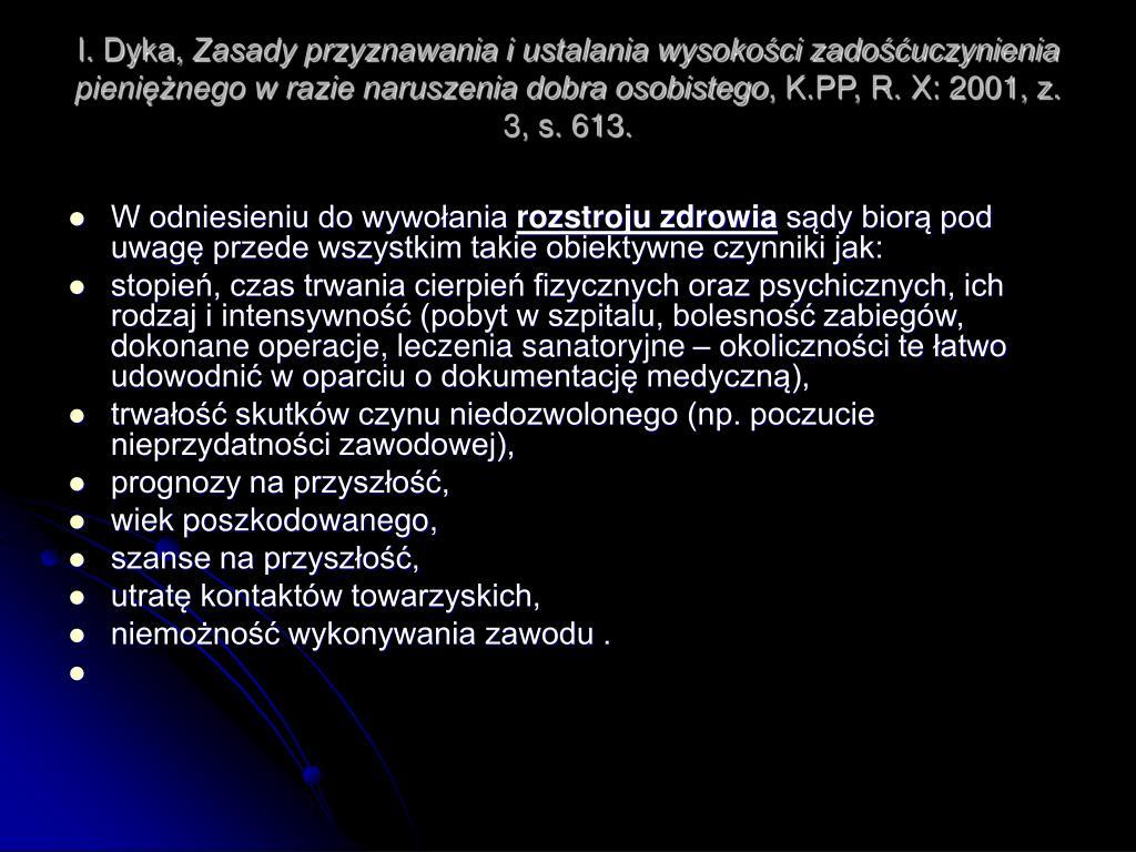 I. Dyka,