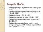 fungsi al qur an