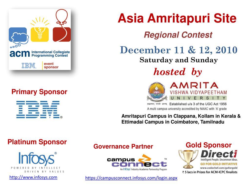 Asia Amritapuri Site