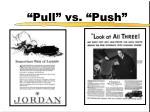 pull vs push