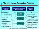 the intelligence production process