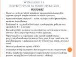 wymaganie 1 4 respektowane s normy spo eczne9