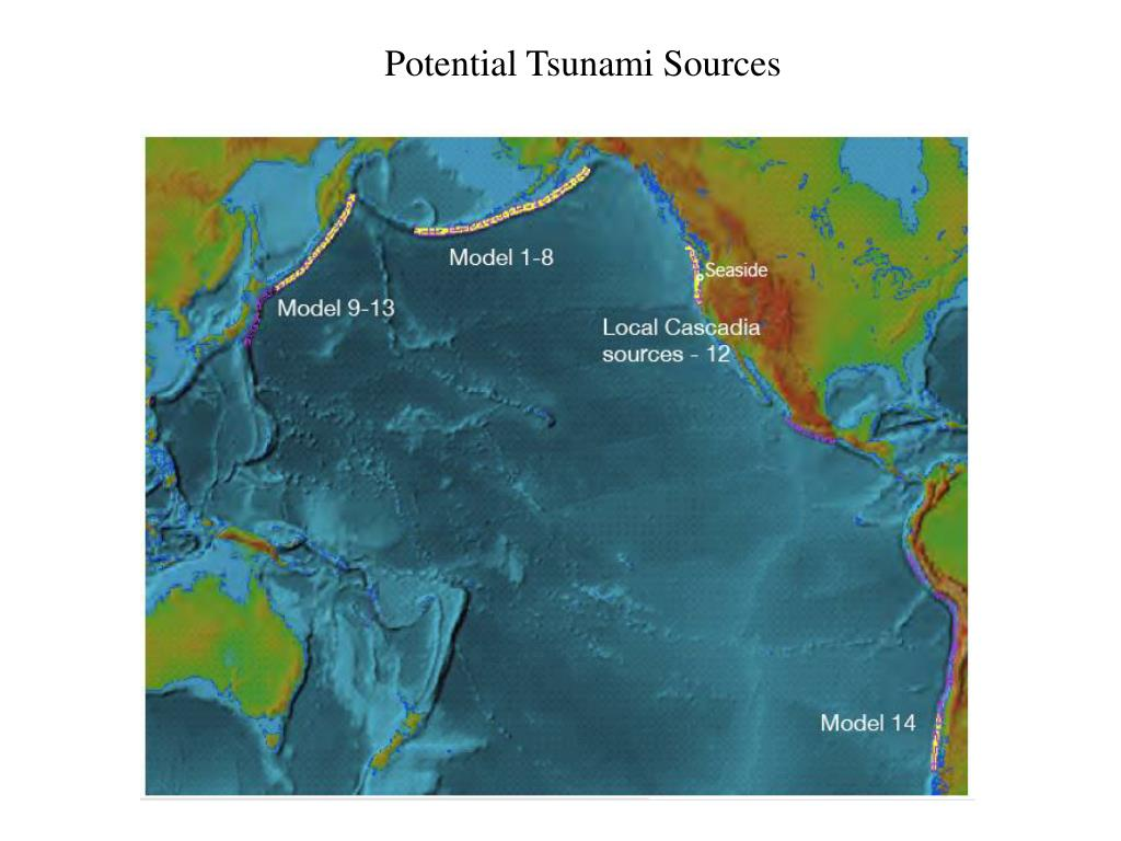 Potential Tsunami Sources
