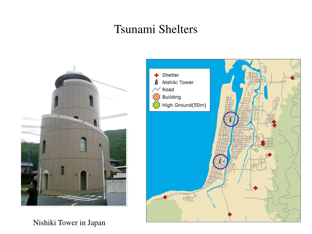 Tsunami Shelters